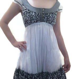 100% Cotton Boho Dress Sz Small